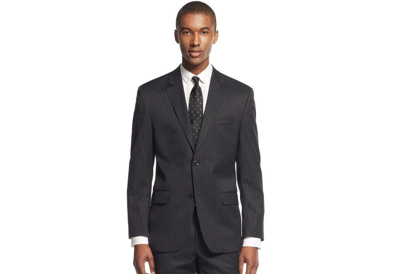 Michael Kors Blazer Black Pinstripe Two Button New Men's Sport Coat
