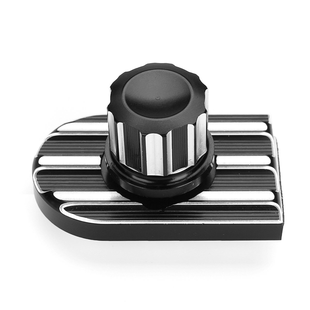 Kungfu Mall CNC Beveled Seat Bolt Tab Screw Mount Knob Cover Set For Harley Dyna FXDF FXDL
