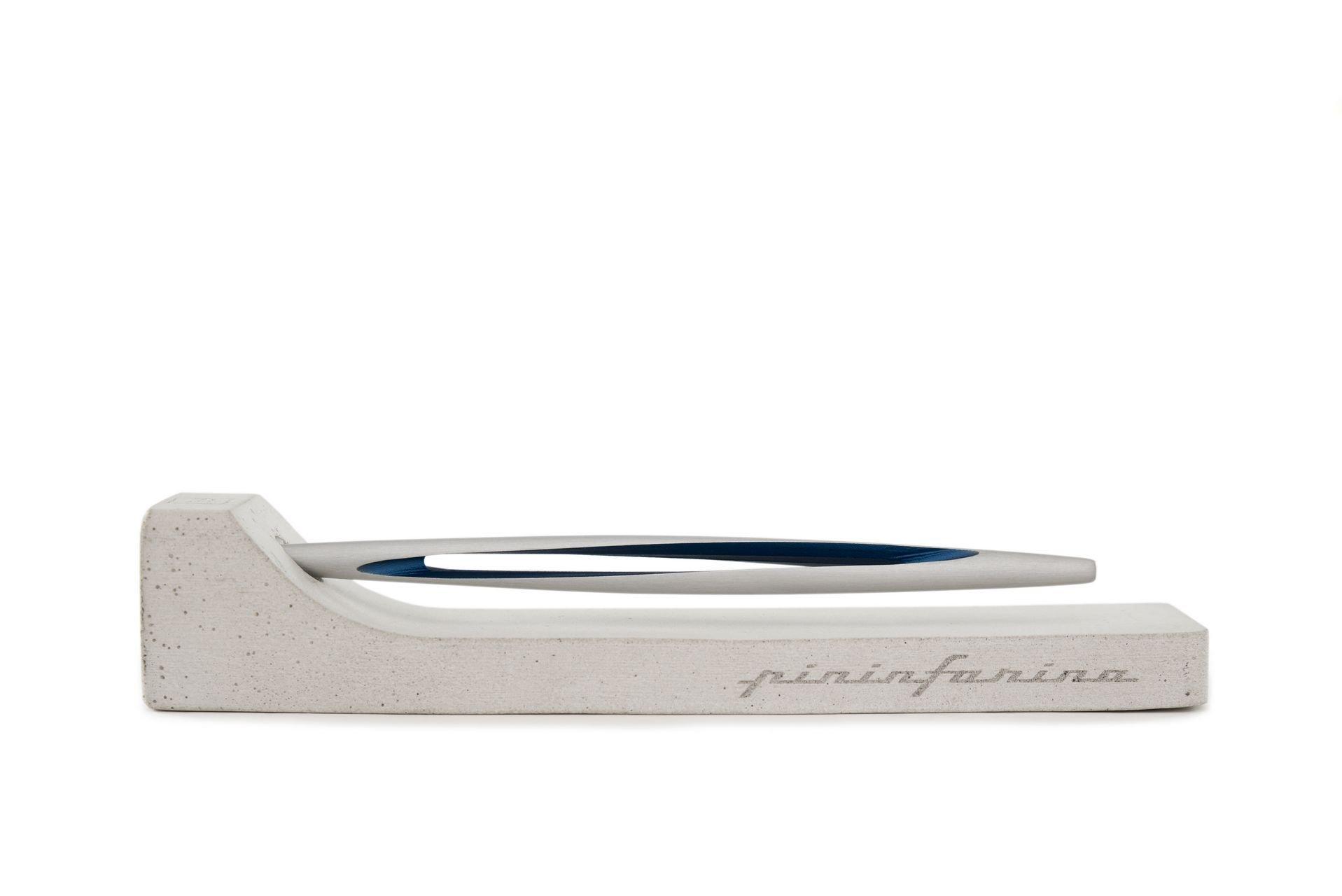 NAPKIN Pininfarina Aero Blue twisted Writing Instrument by Napkin