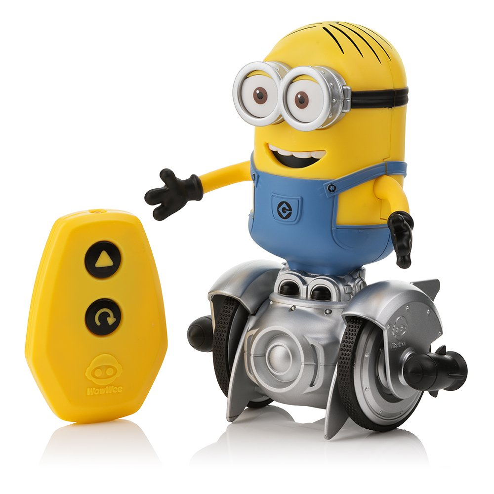 WowWee Mini Minion MiP Turbo Dave - Miniature Remote-Controlled Robot Toy by WowWee (Image #4)