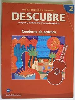 Descubre level 2 lengua y cultura del mundo hispanico sarah descubre nivel 2 lengua y cultura del mundo hispnico student workbook english fandeluxe Gallery