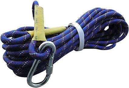 Equipo de escalada y senderismo, 8 mm, cuerda de seguridad ...