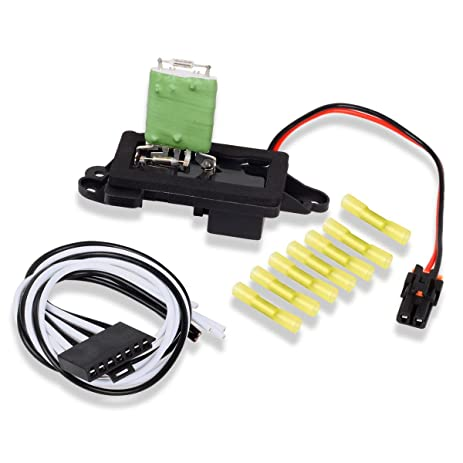 amazon com partssquare 89019088 heater blower motor resistor for 1964 Ford Mustang Wiring ac wiring harness to resistor