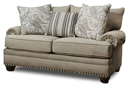 Amazon.com: Chelsea Home Loveseat in Max: Kitchen & Dining
