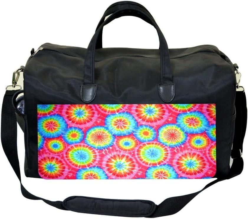 Tie Dye Circles Sports Bag