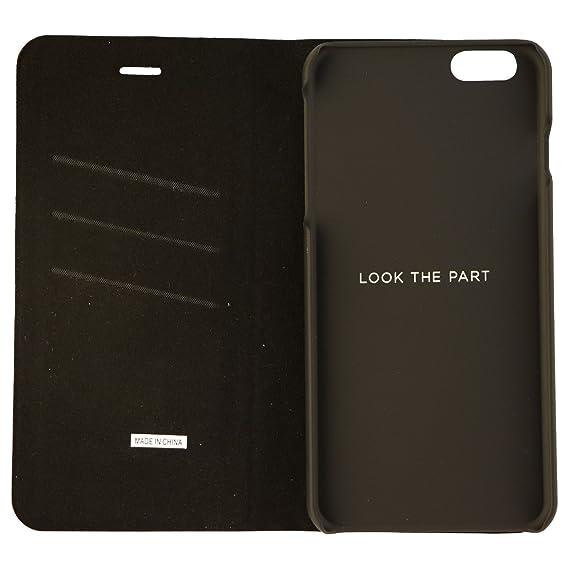 best cheap 7fe21 368a0 Platinum Iphone 6/6s PLUS Removable Flip Case microfiber/Faux Leather
