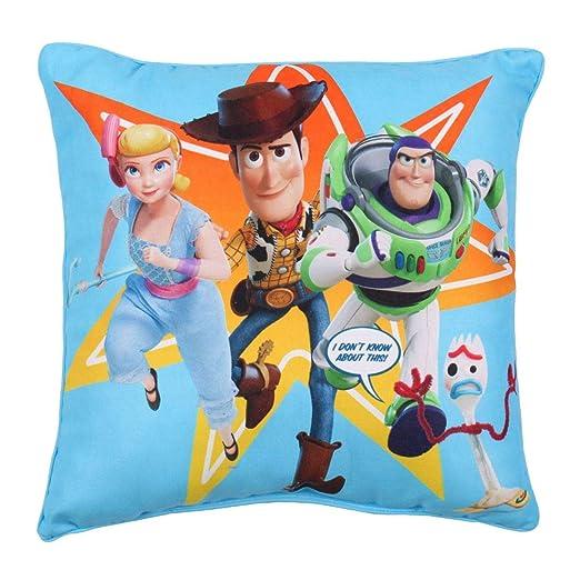 Toy Story 4 - Cojín Cuadrado con diseño de Bosque: Amazon.es ...