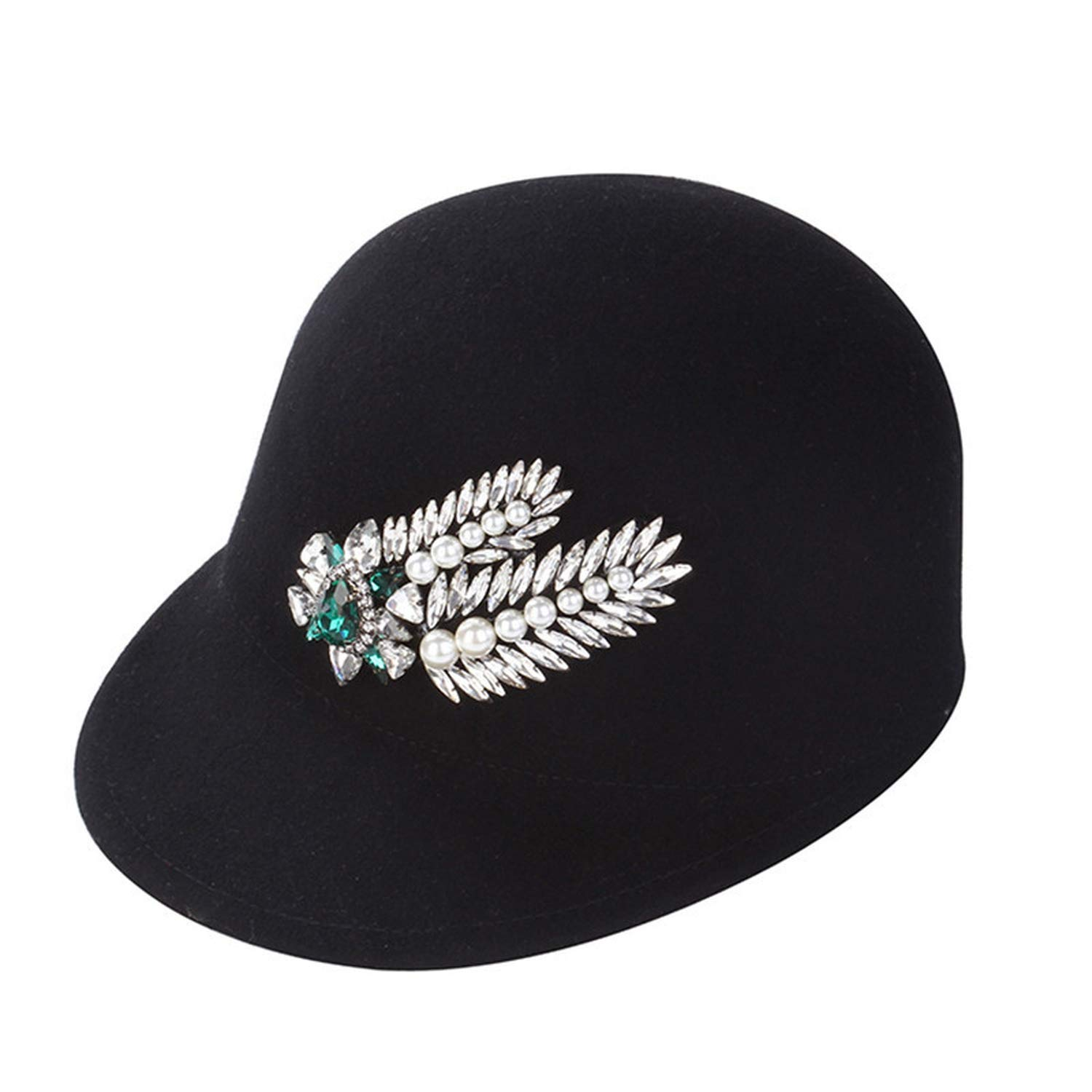 3 Xivikow 2019 Fashion Korean Fashion Wool Feather Lady hat Women Fashion hat 650