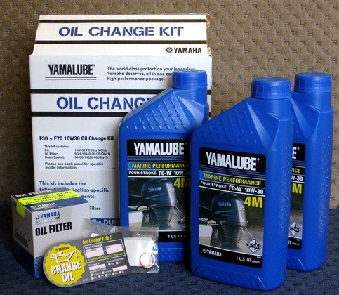 Yamalube F30 F70 Outboard Oil Change