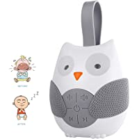 Amazon Price History:Owl Baby White Noise Machine,Portable On-The-Go Infant Timed Shutdown Baby Sleep Sound Machine Baby Sleep Aid Sound