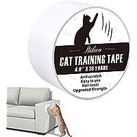 Bihuo Anti Cat Scratch Tape, Double Sided Cat Scratch Deterrent Sheets 4 Inches X 30 Yards Cat Scratch Protector Clear…