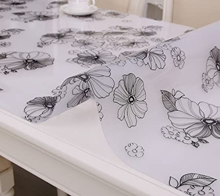 Extra Large Round Table Cloth.Qwm Extra Large Tablecloth Table Runner Cloth Transparent Plastic