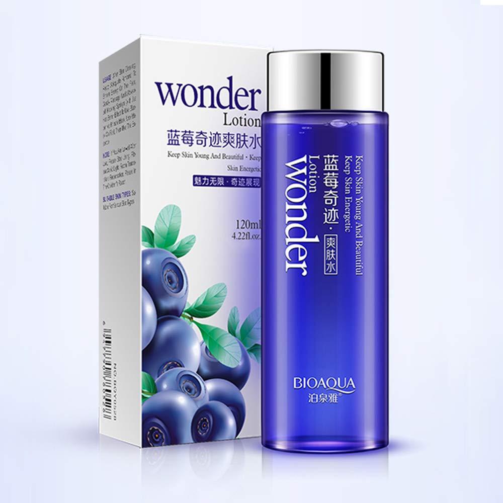 BIOAQUA Wonder Blueberry Lotion Natural Herbal Skin Care Moisturizing Nourishing Brightens Fast Effect 120g