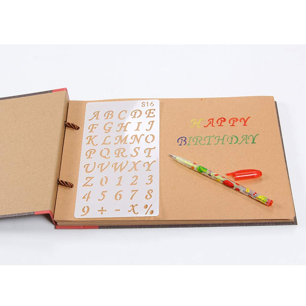 with Photo Album Storage Box Perfect Gift for Anniversary Valentines ECT! 10 x 10 inches DIY Scrapbook Photo Album 80 Pages Burlap Cover Album Craft Paper Album