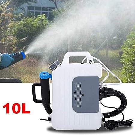 SGLMYD Máquina de nebulizador ULV 10L for Uso hospitalario pulverizador eléctrico de desinfección for la Agricultura jardinería Restaurante siembra jardín: Amazon.es: Hogar