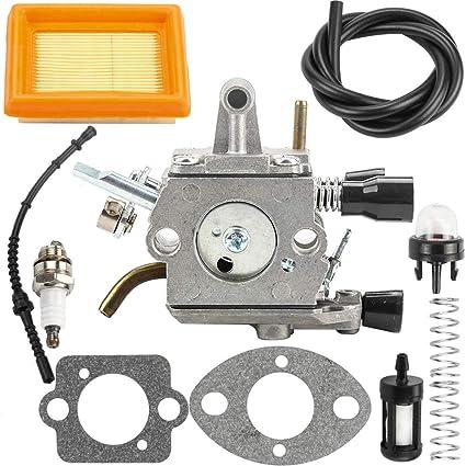 Amazon com: Kuupo FS250 Carburetor for STIHL Trimmer Parts
