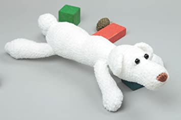 Peluche para ninos hecho a mano regalo original juguete tejido Oso polar