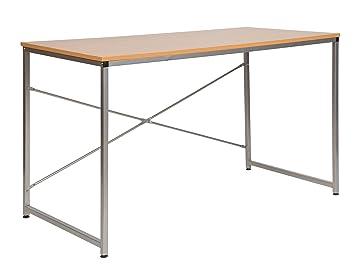 ts-ideen Holz Schreibtisch Bürotisch Computertisch Arbeitstisch ...