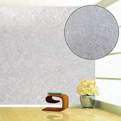 TataYang Sparkly Silver Glitter Wallpaper Modern Minimalist Paper For Home  Bedroom living room Wallpaper Wall Covering Decor Abstract 10M/32.8ft