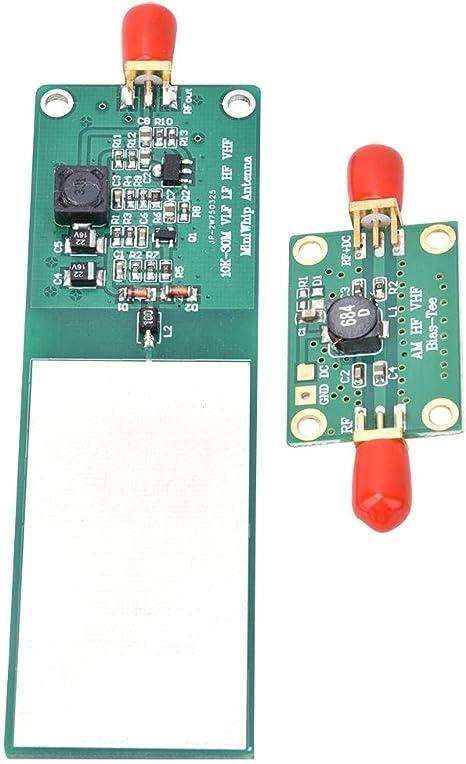 FTVOGUE Módulo de Antena Activa de Onda Corta Mini-Whip MF/Hf/VHF Receptor de Radio Accesorios electrónicos