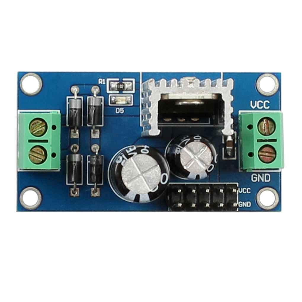 Morza L7806 LM7806 Trois bornes de régulation de Tension Module 6V Alimentation régulée Module d'alimentation