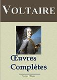 Voltaire : Oeuvres complètes - 109 titres et annexes - édition enrichie - Arvensa éditions (French Edition)