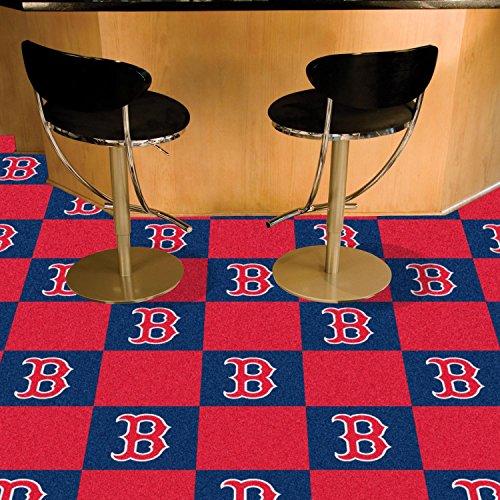Sox Carpet (Massachusetts Team Carpet Tiles MLB - Boston Red Sox 18