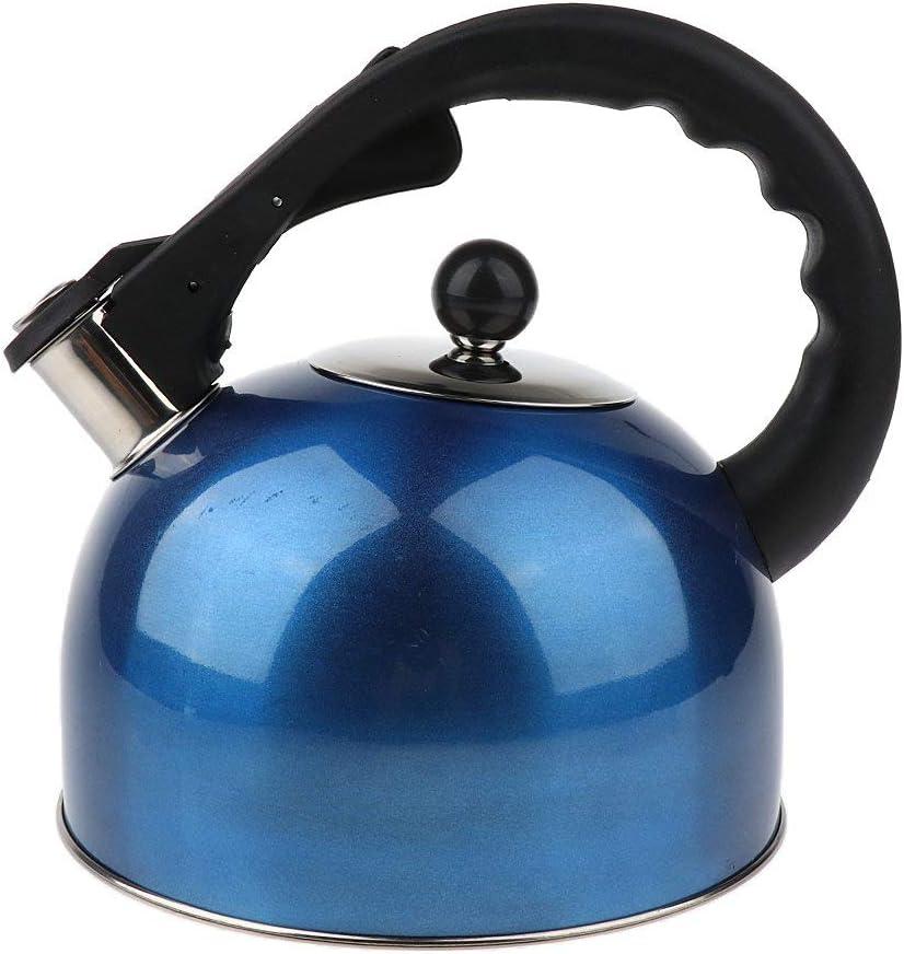 Color : Rot, Size : Size Screenes Sharplace Kettle Kettle Tea Tea Tetera 3 litros De Acero Estilo Simple Inoxidable Blue Kettle Travel Camping Dise/ño Retro Estilo Cl/ásico De La Moda