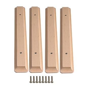 Kleiderschrank holz modern  BQLZR Lochabstand 192 mm, modern, Schwarz, Schränke, Holz ...