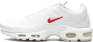 Amazon.com   Nike Air Max Plus Tn/Supreme White/Speed Red-White ...