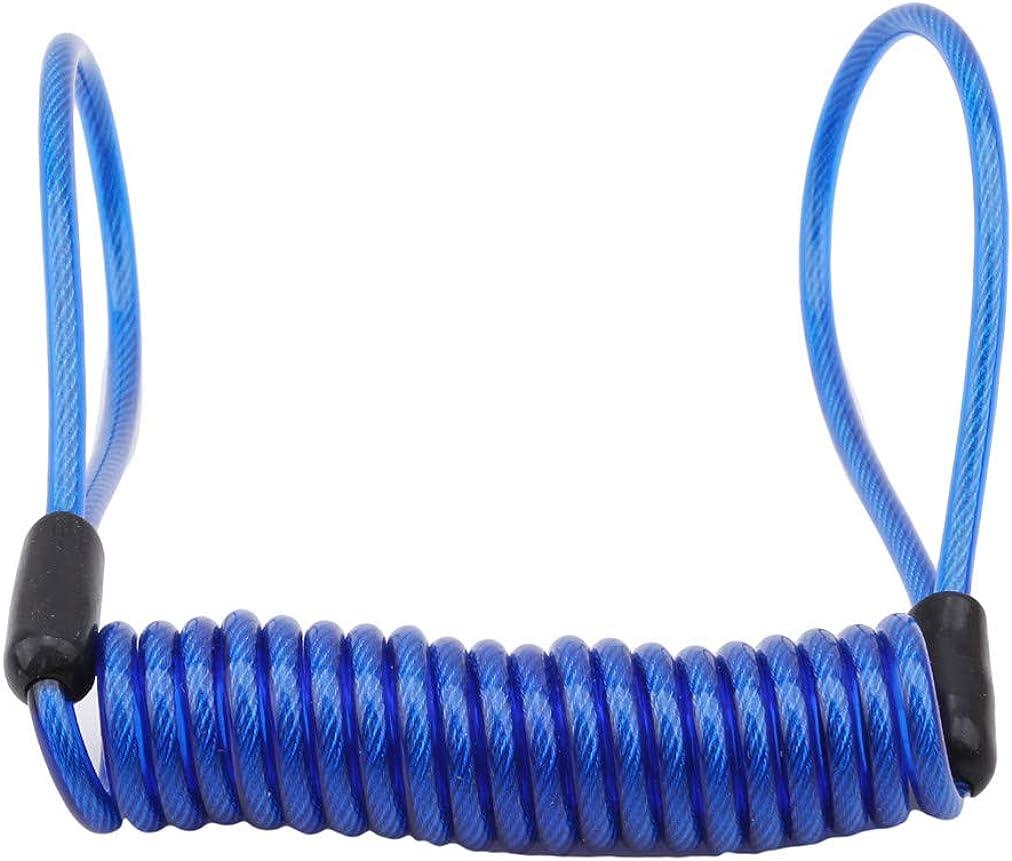 Sevenfly Bicycle Lock Elastic Metal Wire Rope Anti Lost Multifunction Reminder Wire