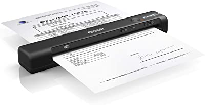 Epson Workforce ES-60W Wireless Portable Sheet-fed Document Scanner