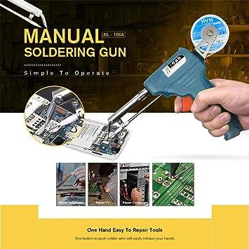 TAOtTAO - Herramienta manual de soldadura para mejorar la estructura de la tabla de reparación de estaño: Amazon.es: Bricolaje y herramientas