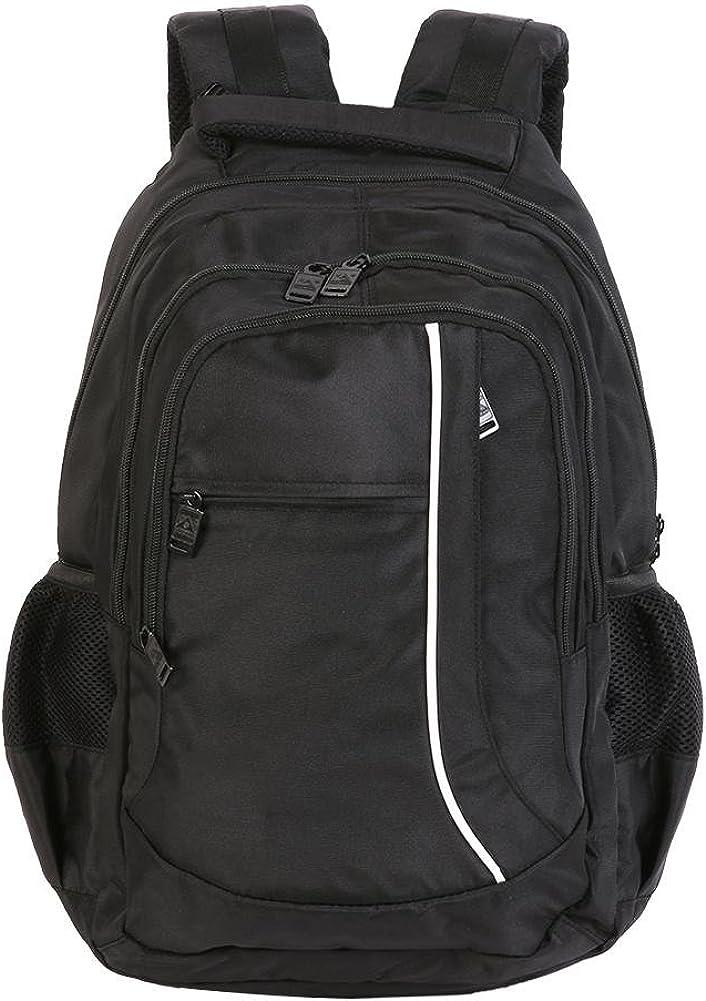 Black Domybest Hiking Biking Camping Backpack Training Bag LED Light Outdoor Bags