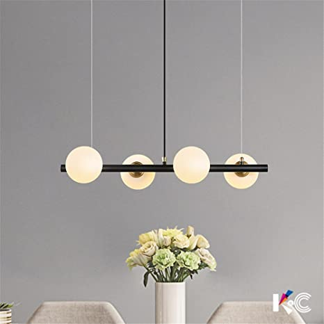 Chandeliers Original Modern Led Chandelier Nordic Deco Lighting Glass Ball Fixture Novelty Living Room Hanging Lights Restaurant Suspended Lamps Latest Technology Ceiling Lights & Fans