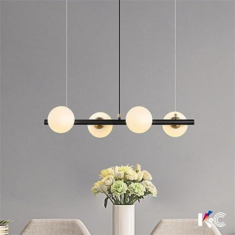 Chandeliers Lights & Lighting Modern Chandeliers Led Pendant Lamps Living Room Lighting Nordic Luminaires Novelty Fixtures Glass Ball Loft Hanging Lights