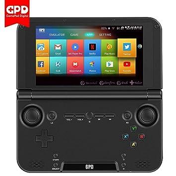 GPD XD Plus [2019 HW Update] Android 7.0 Handheld Game Console Mediatek MT8176 Hexa-Core 4GB RAM 32GB ROM 5