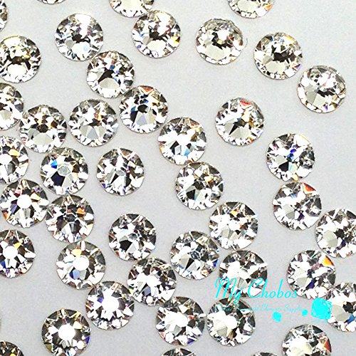 720 pcs Crystal (001) clear Swarovski NEW 2088 Xirius 16ss Flat backs Rhinestones 4mm ss16 ()