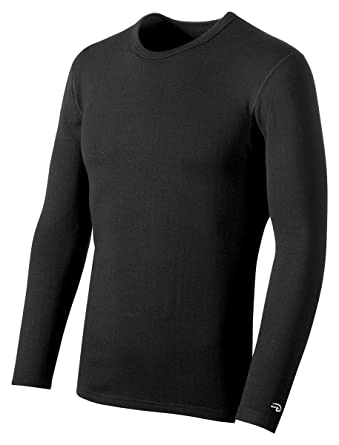 0e0c76fcd04 Image Unavailable. Image not available for. Color  Champion Duofold  Varitherm Men s Long-Sleeve Thermal Shirt Black M