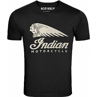 1fb0ace3b4f INDIAN MOTORCYCLES MENS T-SHIRT  Amazon.co.uk  Clothing