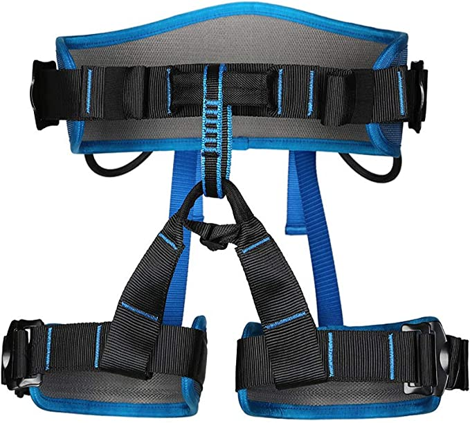 """Climbing Protection Safety Belt For Body Positioning Fit Waist Up To 44/"""" US Ship"""