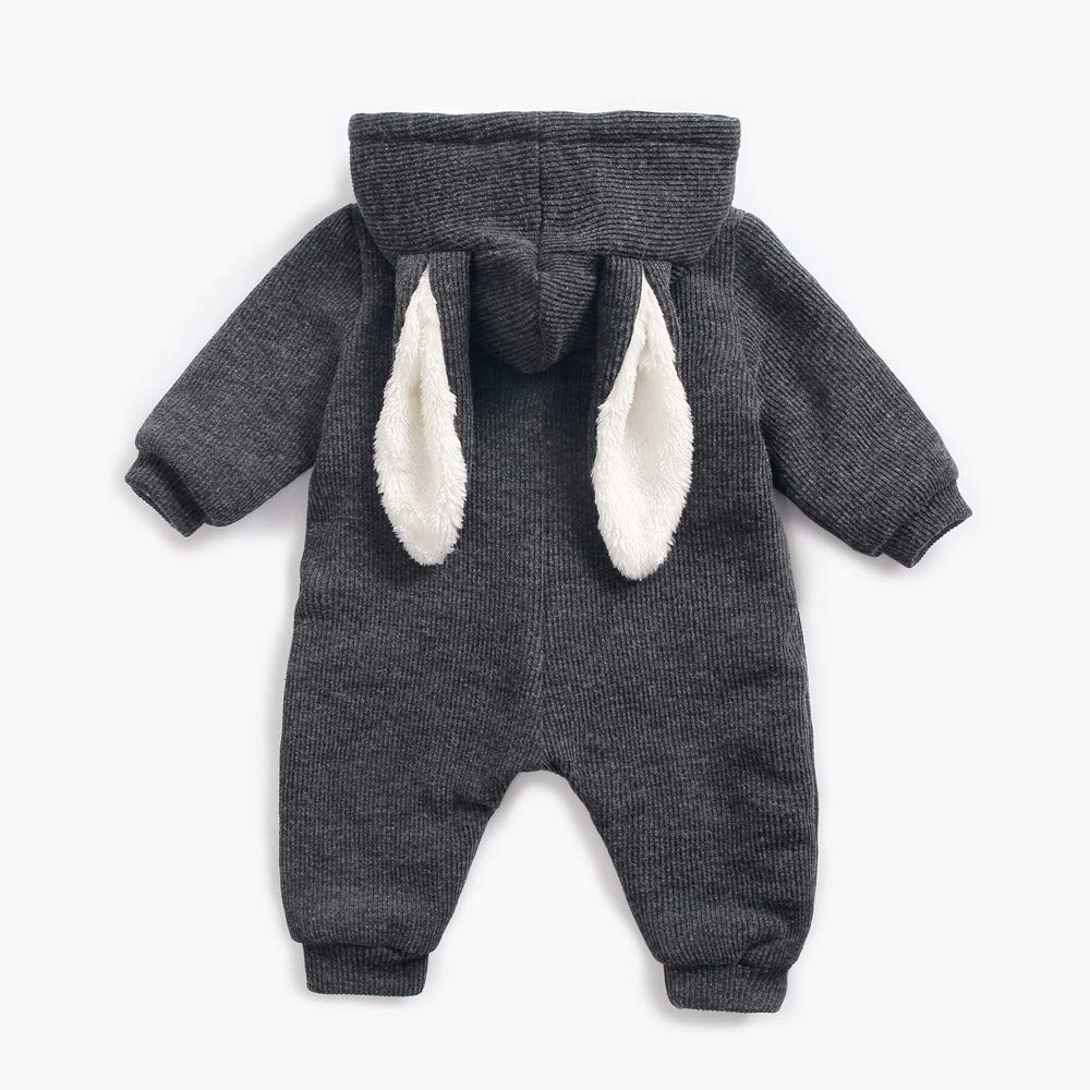 1f687998c Amazon.com  Franterd Kids Rabbit Rompers for Toddler Infant Baby ...