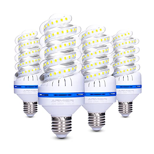 Light Bombillas LED E27 No Regulable, 20W (Equivalente a 150 vatios)