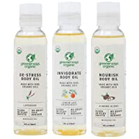 Greenerways Organic Body Oils - Therapeutic Massaging Oils - Scar Removal Oil for...