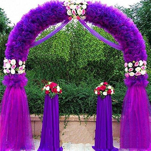 Wedding Arches Ideas: Adorox 7.5 Ft Lightweight White Metal Arch Wedding Garden