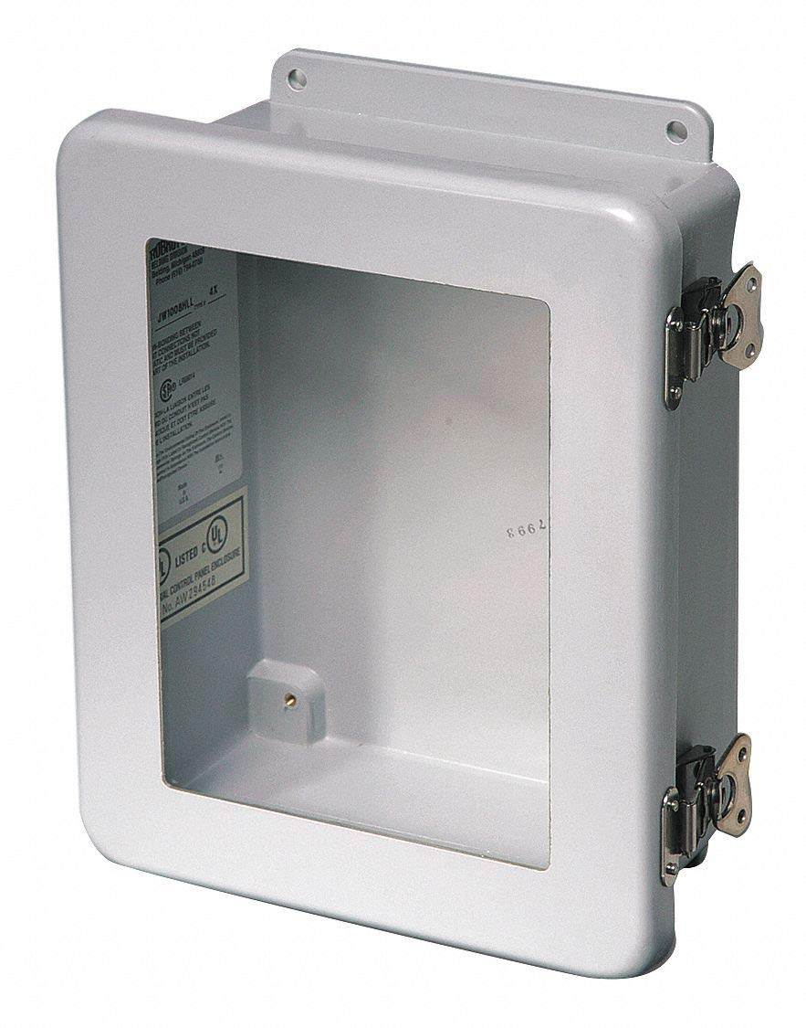 Hubbell Stahlin Enclosure 12 H x 6 D x 10 W