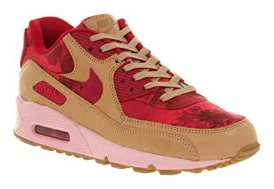 htfes Nike Air Max 90 Liberty Pink Floral Nude - 6 Uk: Amazon.co.uk