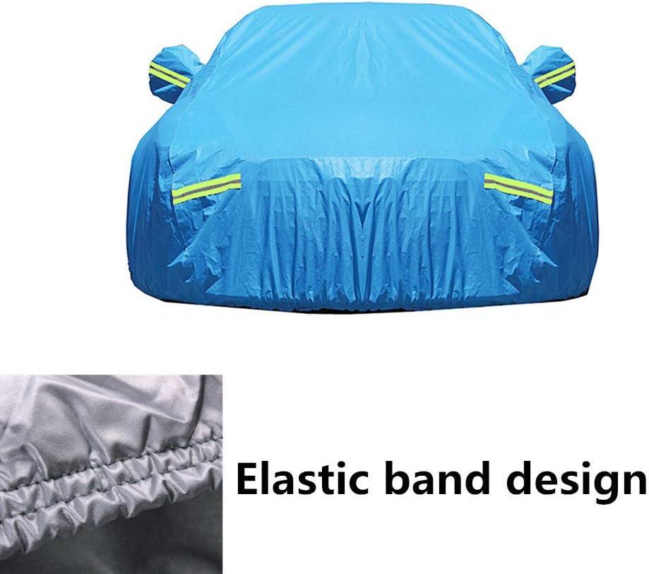 Telo Copri Auto Anti Grandine Telo Copriauto Da Esterno Car Cover Small Copertura per auto di grandi dimensioni Mezza copertura auto blue,2xl