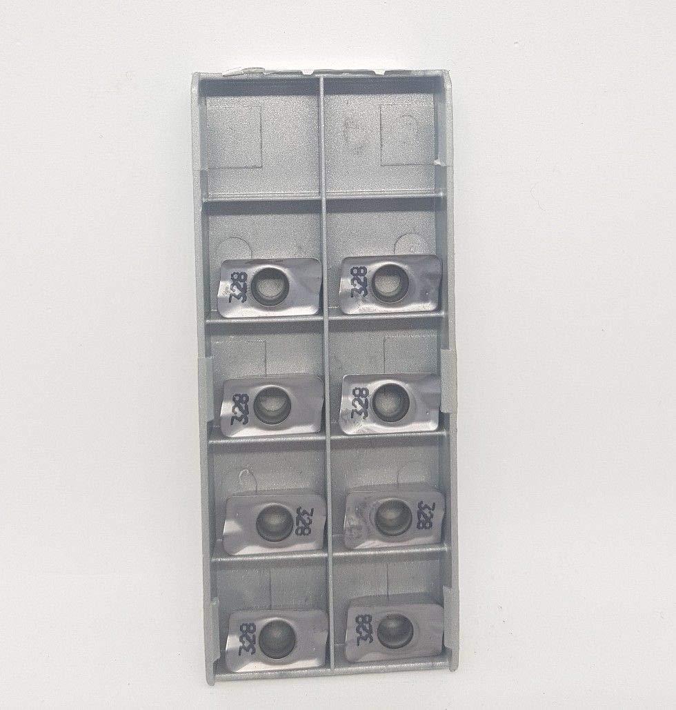 Iscar APKT 160416R-HM IC328 - Puntas de fresado (8 unidades)