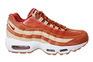 newest collection 5ce23 30602 Nike Women's WMNS Air Max 95 Lx Fitness Shoes, Multicolour Peach/Dusty Pe  201